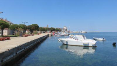 Le port d'Umag