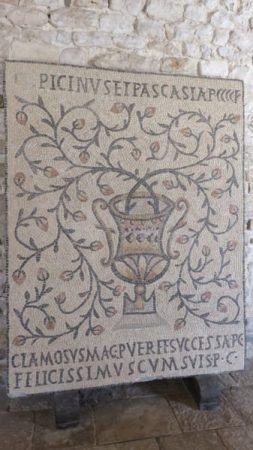 Mosaiques bysantines de laLa Basilique euphrasienne de Porec