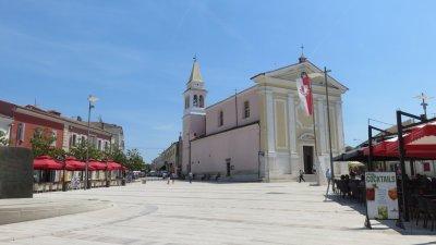 L'église Notre Dame des Anges à Porec