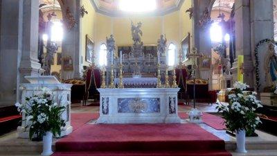 L'autel de l'église Ste Euphémie de Rovinj