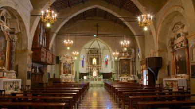 L'église Santa Maria Maggiore à Sirmione