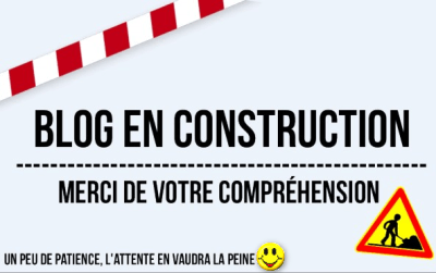 Blog en construction