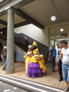 La fête des fleurs au Mercado dos Lavradores (Marché) - Funchal