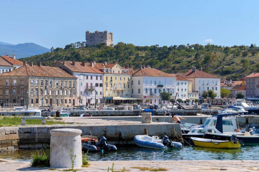 La ville de Senj et son château (Croatie)