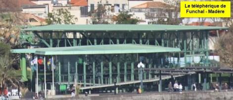 Le téléphérique de Funchal - Madère