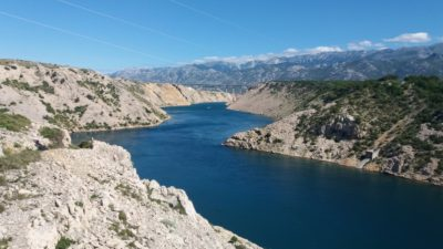 Le golfe de Novigrad (Croatie)