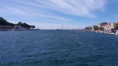 Zadar depuis le Most Bridge
