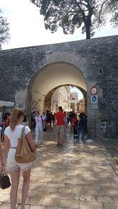 Une des portes de la vieille ville de Zdar
