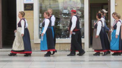 Le festival des ethnies de Zadar