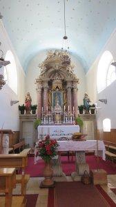 l'église de Tisno (Croatie)