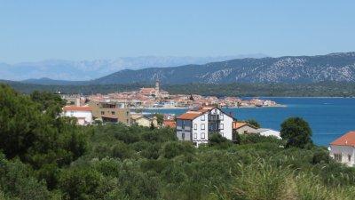 Le village de Murter (Croatie)