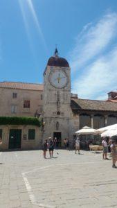 La tour de l'horloge de Trogir