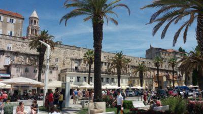 Les quais et les remparts du palais de Dioclétien - Split