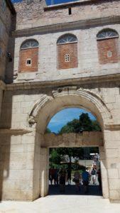 La porte d'Or du palais de Dioclétien - Split