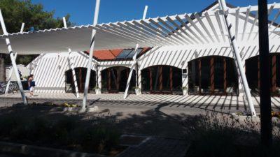 Accueil du camping Belvédère de Seget Vranjica