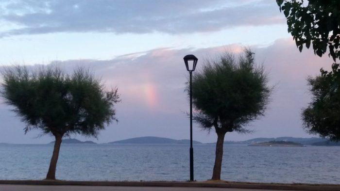 Coucher de soleil sur Orebic - Croatie