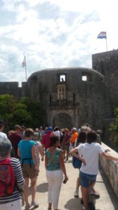 La porte Pile - Dubrovnik