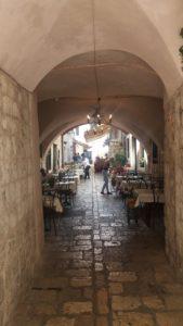 Les ruelles de la vieille ville - Dubrovnik