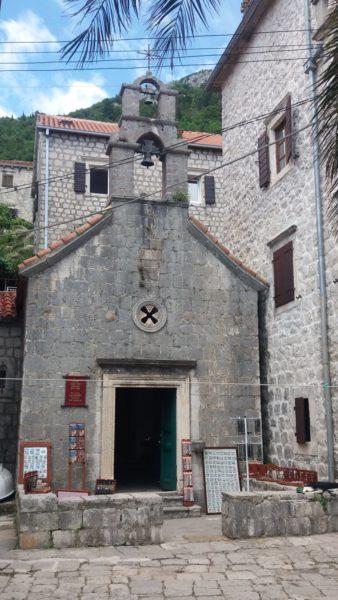 L'église St Jean Baptiste de Perast - Monténégro
