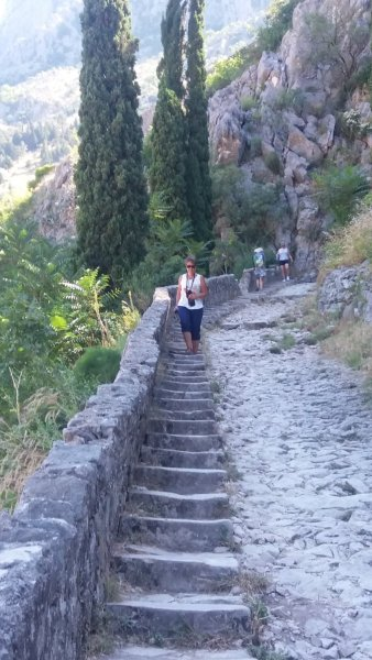 Descente de la muraille de Kotor - Monténégro