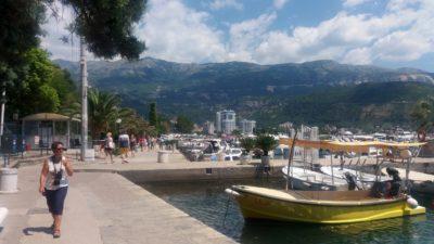 Sur le port de plaisance de Budva - Monténégro