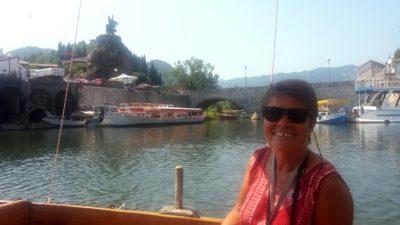 Départ pour la balade sur le lac Skadar - Monténégro
