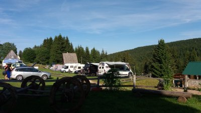 Auto camp de Mlinsky Potok - Zabljak (Monténégro)