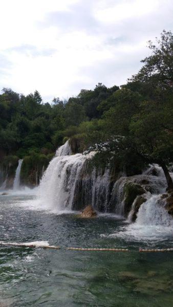 chutes d'eau dans le parc de Krka - Croati