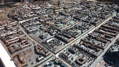 Plan miniature de la ville de Zagreb