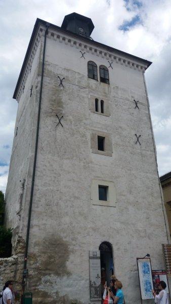La tour panoramique de Lotrscak - Zagreb