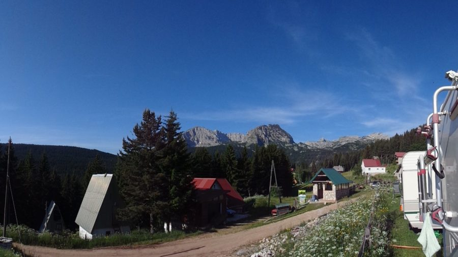 Vue depuis le Camp Mlinsky Potok - Zabljak (Monténégro)