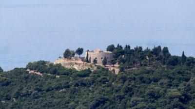 Vieille tour près de Dubrovnik - Croatie