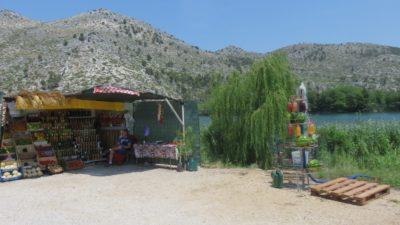 Vente de produits locaux - Croatie
