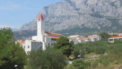 L'église de Makarska - Croatie