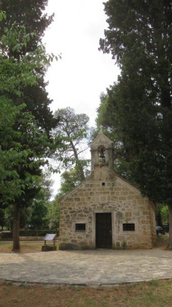 Petite chapelle dans le parc de Krka - Croatie