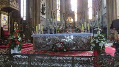 Autel de la cathédrale de Zagreb