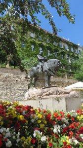 Statues de St Georges et le Dragon - Zagreb