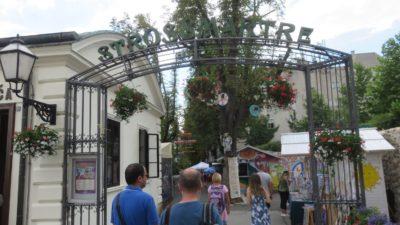 La promenade Strossmayer - Zagreb