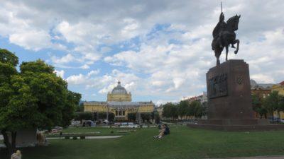 Le pavillon des Arts - Zagreb