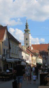 La tour de l'église Ste Marie - Zagreb