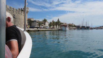 Arrivée sur Trogir