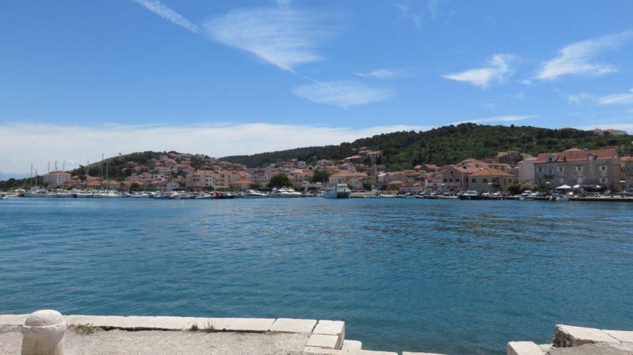 Vue sur la presqu'île de Ciovo