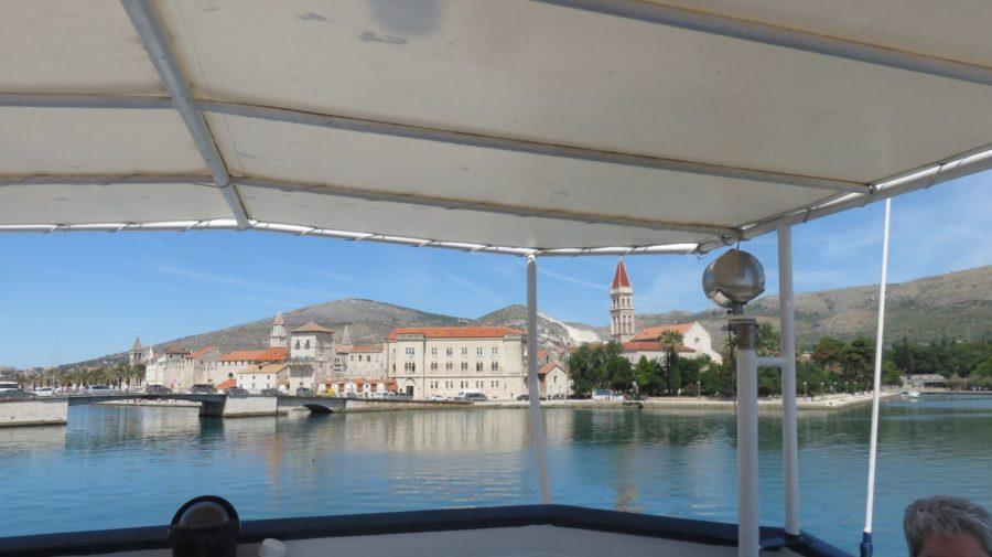 Trogir vue du bateau pour Split