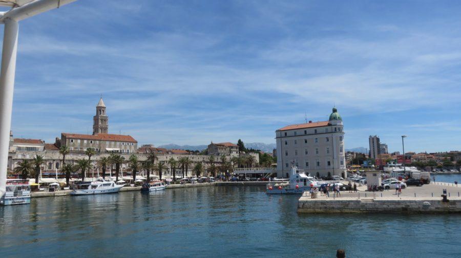 Le port et la vieille ville - Split