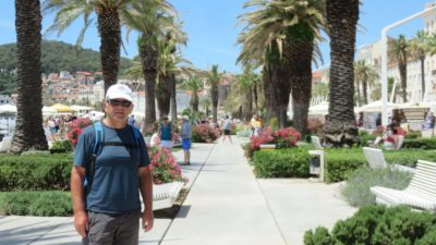 Balade sur les quais du port de Split
