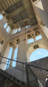 Les escaliers du campanile de la cathédrale Sveti Dujam - Split