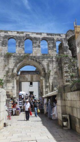Porte d'Argent du palais de Dioclétien - Split