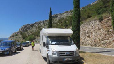 Arrêt entre Pisak et Brela - Croatie