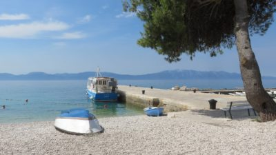La jetée de Zaostrog - Croatie