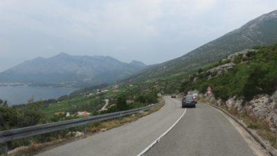Arrivée sur Orebic - Croatie